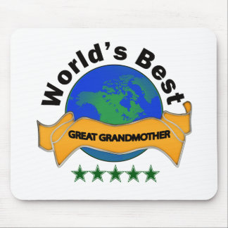 World's Best Great Grandmother Mouse Pad