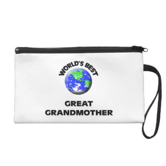World's Best Great Grandmother Wristlet Clutches