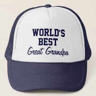 World's best great grandpa cap/ hat