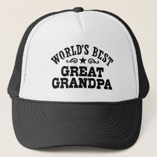 b4b24245740 World s Best Great Grandpa Trucker Hat
