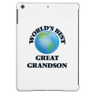 World's Best Great Grandson Case For iPad Air