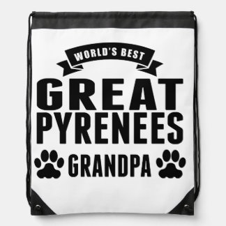 World's Best Great Pyrenees Grandpa Backpacks