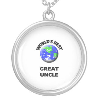 World's Best Great Uncle Necklaces