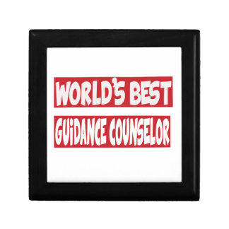 World's Best Guidance Counselor. Trinket Boxes