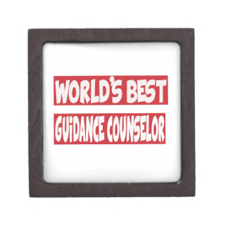 World's Best Guidance Counselor. Premium Trinket Boxes