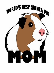 c7493448 WORLD'S BEST GUINEA PIG MOM pet funny shirt .