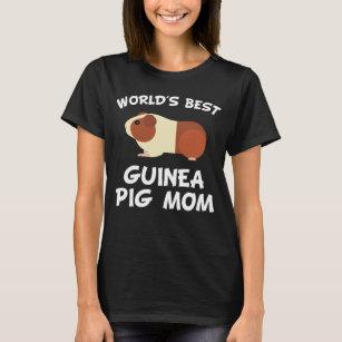958c6094 Guinea Pig Mom T-Shirts - T-Shirt Design & Printing | Zazzle