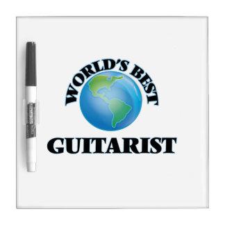 World's Best Guitarist Dry Erase Whiteboard