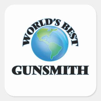 World's Best Gunsmith Square Sticker