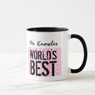World's Best Gym Teacher Ever Gift V17 Mug