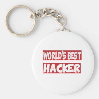 World's Best Hacker. Keychains