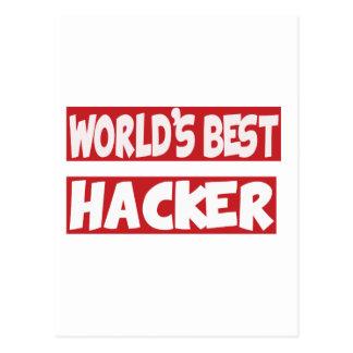 World's Best Hacker. Post Cards
