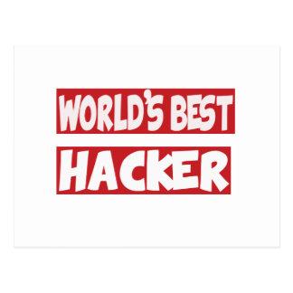 World's Best Hacker. Postcards