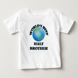 World's Best Half-Brother Tee Shirts