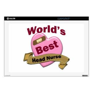 World's Best Head Nurse Laptop Skins