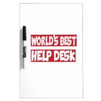 World's Best Help Desk. Dry-Erase Whiteboard