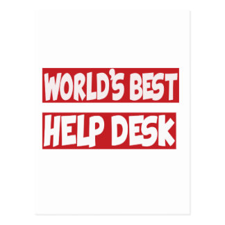World's Best Help Desk. Post Cards