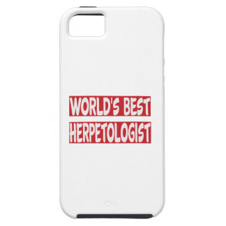 World's Best Herpetologist. iPhone 5 Covers