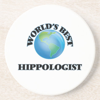 World's Best Hippologist Coasters