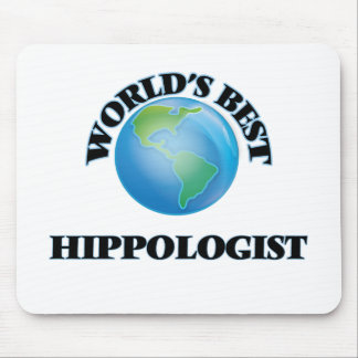 World's Best Hippologist Mouse Pads