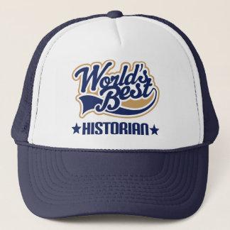 Worlds Best Historian Trucker Hat