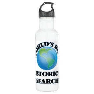 World's Best Historical Researcher 24oz Water Bottle