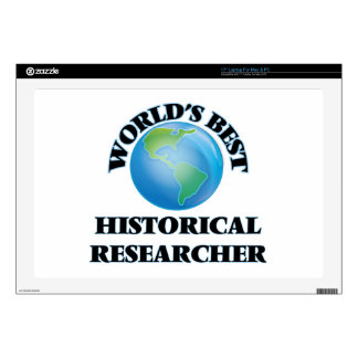 World's Best Historical Researcher Laptop Decals