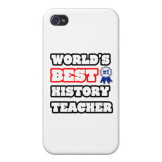 World's Best History Teacher iPhone 4/4S Case