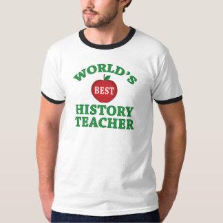 World's Best History Teacher T-Shirt