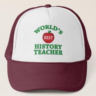 World's Best History Teacher Trucker Hat