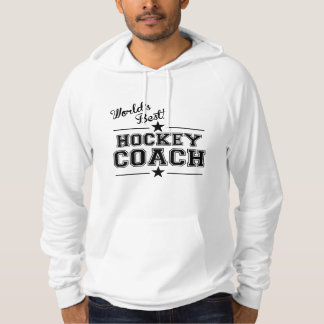 World's Best Hockey Coach Hooded Pullover