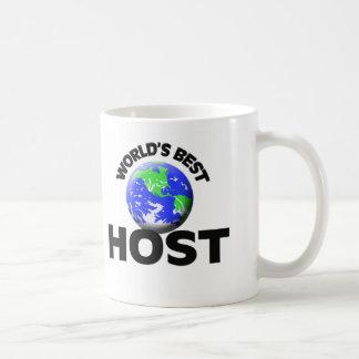 World's Best Host Classic White Coffee Mug