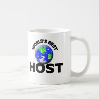 World's Best Host Coffee Mug