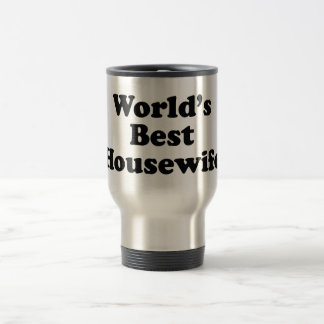 world's best housewife 15 oz stainless steel travel mug