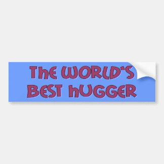 World's Best Hugger Bumper Sticker