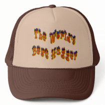 World's Best Hugger Trucker Trucker Hat