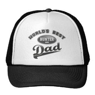 World's Best Hunter & Dad Trucker Hat