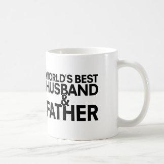 World's best husband and father coffee mug