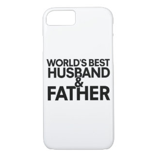 World's best husband and father iPhone 7 case