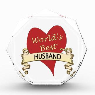 World's Best Husband Acrylic Award
