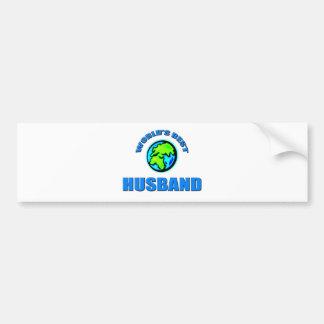 World's Best Husband Car Bumper Sticker