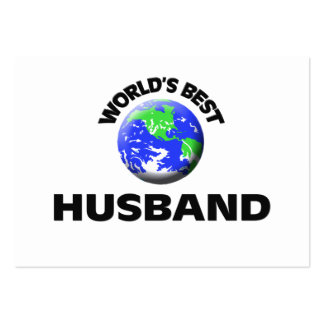 World's Best Husband Large Business Cards (Pack Of 100)