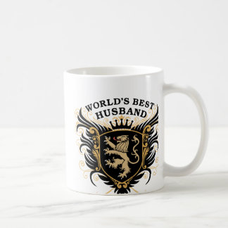 World's Best Husband Classic White Coffee Mug