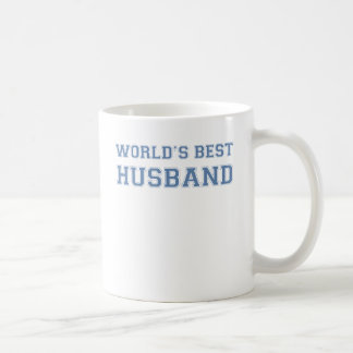 Worlds Best Husband Classic White Coffee Mug