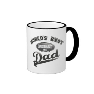 World's Best Husband & Dad Coffee Mugs