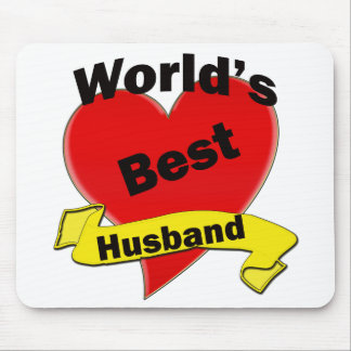 World's Best Husband Mouse Pad