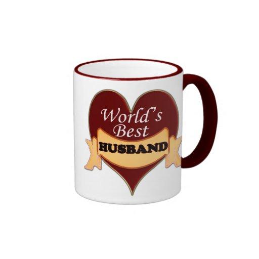 World's Best Husband Mugs