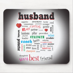 World Best Husband Mouse Pads Zazzle