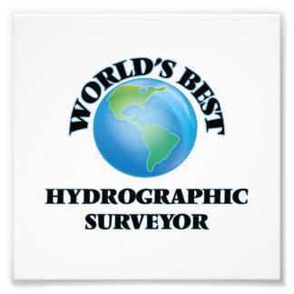 World's Best Hydrographic Surveyor Photographic Print