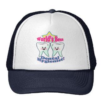 Worlds Best Hygienist Trucker Hat